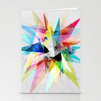 Colorful 2 X Stationery Cards