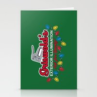 Griswold's Exterior Illumination Stationery Cards