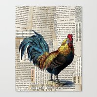 Rooster II Canvas Print