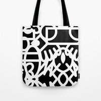 Graffiti And Marker #1 Tote Bag