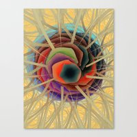Abstract Single-Cell Canvas Print