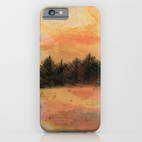 Horizonte distante iPhone & iPod Case