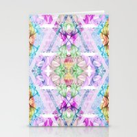 Wildflower Kaleidoscope Stationery Cards