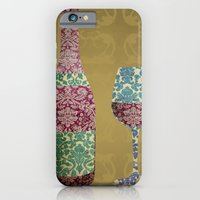 iPhone & iPod Case featuring Vintage Wine by Brady Terry