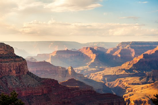 Grand Canyon at Sunset Art Print