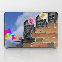 Only Two Flowers iPad Case