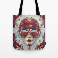 Floral Decadence Tote Bag