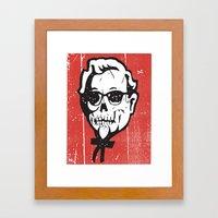 Skull Sanders No.2 Framed Art Print