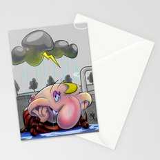 Why so glum, chum? Stationery Cards