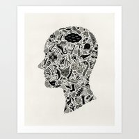 It's All In My Head Art Print