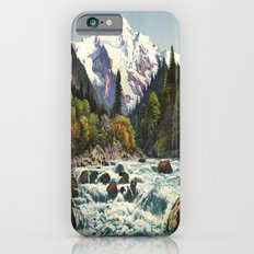 Mountains Forest Rocky River iPhone 6 Slim Case
