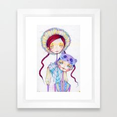 Version I Framed Art Print