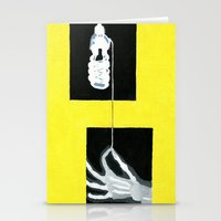 Yellow X-Ray Stationery Cards