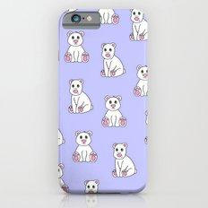 Polar Bear Pattern iPhone 6 Slim Case