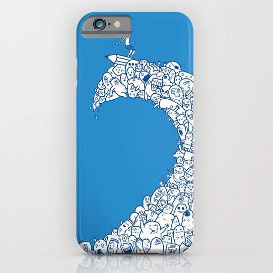 Doodle Wave iPhone & iPod Case