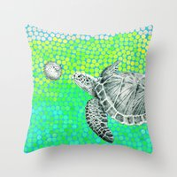 New Friends 1 by Eric Fan and Garima Dhawan Throw Pillow