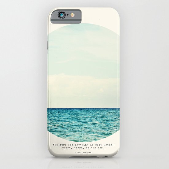 Salt Water Cure iPhone & iPod Case