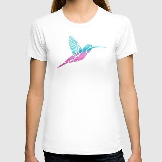 Watercolor Hummingbird T-shirt