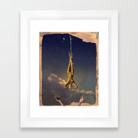Tarot series: The Stars Framed Art Print