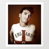 The Smiths singer Art Print