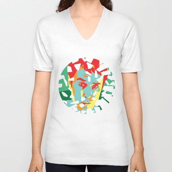 Moon (2009) V-neck T-shirt