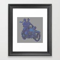 Motorbike  Framed Art Print