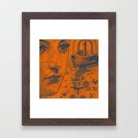 Looking Down the Wishing Well Framed Art Print