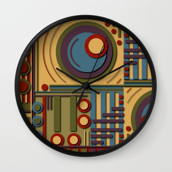 X17 Wall Clock