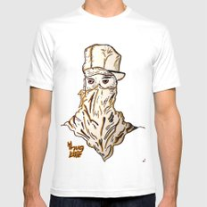 Thug  Mens Fitted Tee SMALL White