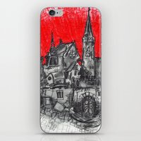 1991 - Imaginary French Village (High Res) iPhone & iPod Skin