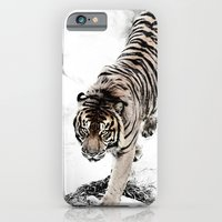 iPhone & iPod Case featuring Eye Of The Tiger by ARTNOIS Magazine