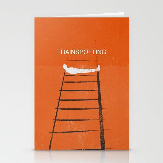 Trainspotting Stationery Card