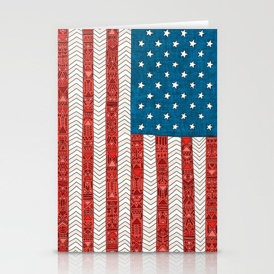 USA Stationery Card