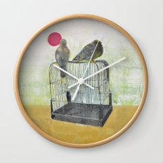Free Birds Wall Clock