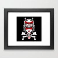 Foxxy Framed Art Print