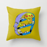 On My Head Throw Pillow