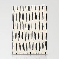 Three / Cream Stationery Cards