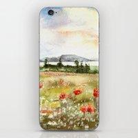 Poppies at the Lake Balaton iPhone & iPod Skin