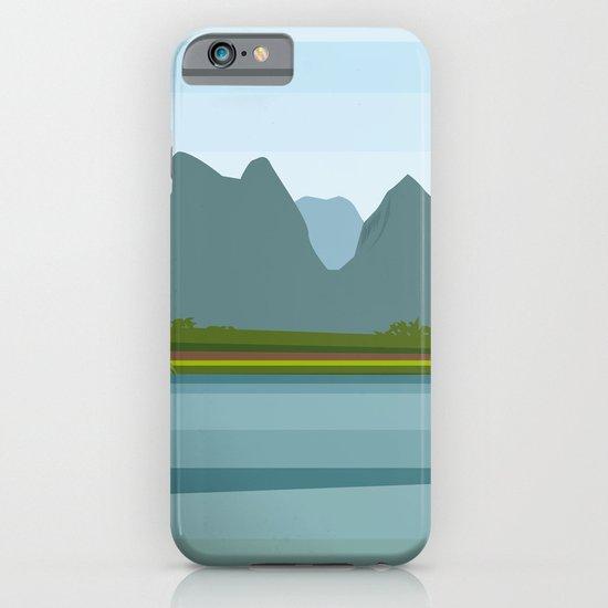 Laos minimal iPhone & iPod Case