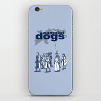 Camelot Dogs iPhone & iPod Skin