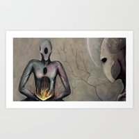 Any Word From The Lord? Art Print