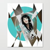 BAT FOR LASHES & The Mas… Canvas Print