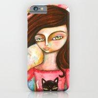 The Black Cat Princess iPhone 6 Slim Case