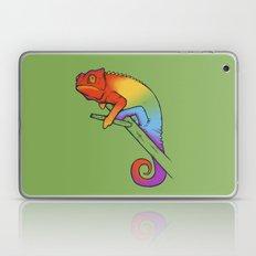 Confused chameleon Laptop & iPad Skin