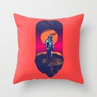 Awakening in a Strange Land Throw Pillow