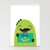 Give A Smile Stationery Cards