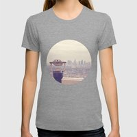 The View: Los Angeles Womens Fitted Tee Tri-Grey SMALL