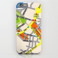 Tel Aviv Jaffa Map Desig… iPhone 6 Slim Case