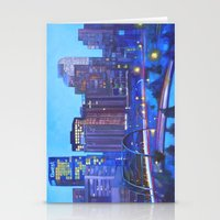 Denver Skyline Stationery Cards