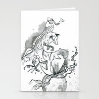 Forest Spirits Stationery Cards